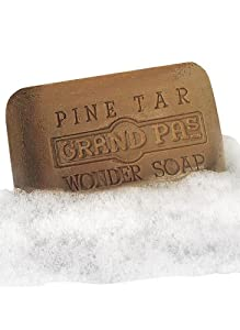 Pine Tar Bath Products - Bath Size Soap Bar 4.25oz