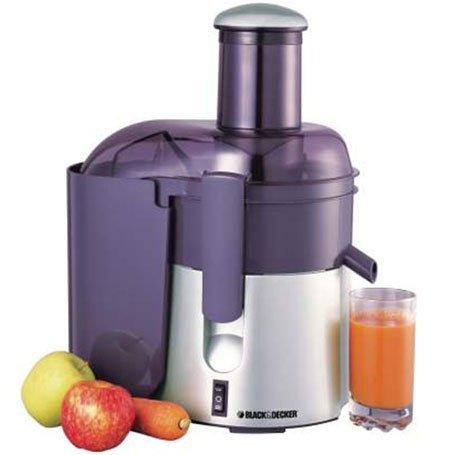 Bundle 2 Items: Black & Decker PRJE600 Juicer Extractor WILL NOT WORK IN USA/CANADA OUTLETS, 220VOLT (Juicer Will Not compare prices)
