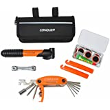 Conquer Compact Bike Repair Tool Kit, 29 Bicycle Tools