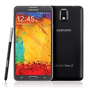 Samsung Galaxy Note 3 N900 32GB Unlocked GSM 4G LTE Android Smartphone w/ S Pen Stylus - Black