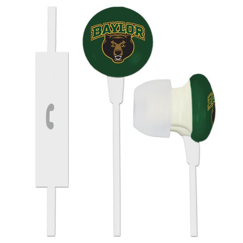 Baylor University Bears Ignition Earbuds + Microphone