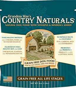 Grandma Maes Country Naturals Grain Free Dog Food: Dry Pet Food: Pet ...