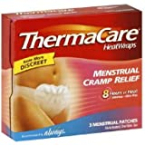 ThermaCare Menstrual Cramp Relief Heat Wraps, 1 Count
