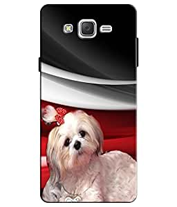 EU4IA CUTE DOG MATTE FINISH 3D MATTE FINISH Back Cover Case For ON5 PRO - D670