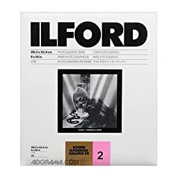 Ilford Ilfobrom Galerie FB Fiber Based Black & White Enlarging Paper - 8x10\