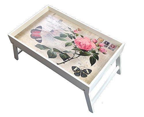 ean 4250888315086 gmmh ordinateur portable original roses plateau support en bois rabat table. Black Bedroom Furniture Sets. Home Design Ideas