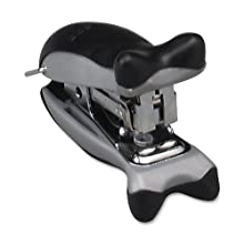 X-ACTO Orca Mini Stand Up Manual Stapler and Hole Punch, Black (73015)
