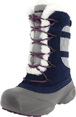 Columbia Sportswear Heather Canyon Winter Boot (Toddler/Little Kid/Big Kid),Dress Blue/Wild Dove,7 M US Toddler