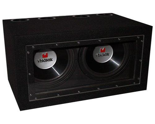 Visonik VBP212B 1200 Watt Car Audio Dual 12