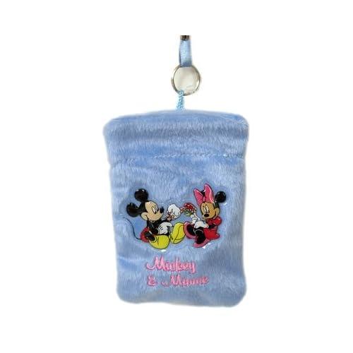 Disney Mickey & Minnie  Camera Cell Phone Holder Pouch Bag