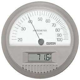 Oakton Thermohygrometer, Wall Mount, Digital Thermometer