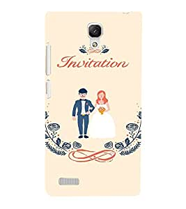EPICCASE Getting married Mobile Back Case Cover For Xiaomi Redmi Note Prime (Designer Case)