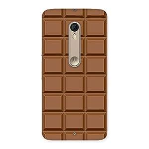 Premium Chocolate Class Print Back Case Cover for Motorola Moto X Style