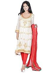 Tehzeeb Women's Faux Georgette Anarkali Salwar Suit - B016BH2BW0