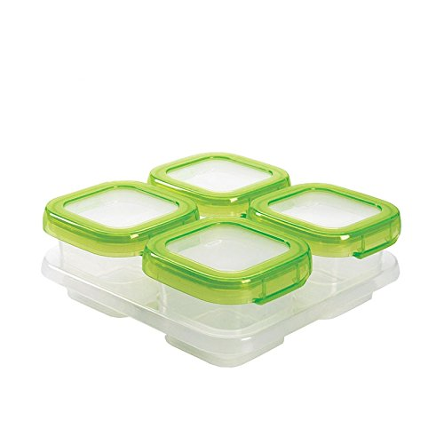 OXO Tot Baby Blocks Freezer Storage Containers - 4 oz (4 Oz Freezer Containers compare prices)
