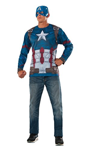 Mens Captain America: Civil War Captain America Costume