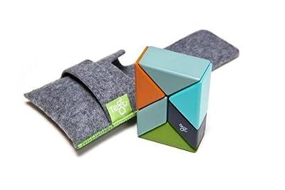 Buy Magnetic Wooden Block Set Nelson 6 Piece Tegu Pocket Pouch Prism