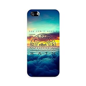 Ebby Rainbow Premium Printed Case For Apple iPhone 4/4s