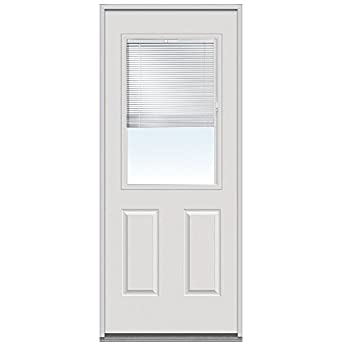 National Door Company ERP684BL28R Entry Door Rehung Right Hand Internal Min
