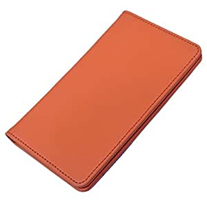 DCR Pu Leather case cover for Nokia Lumia 521 (orange)