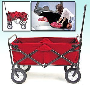 Why Choose The Mac Sports Folding Utility Wagon in Red