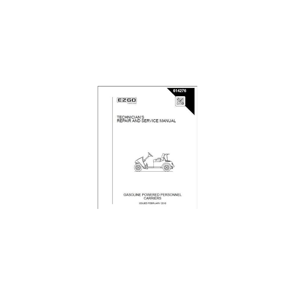 Service Manual for Gas TXT Golf Car Freedom Fleet Patio, Lawn