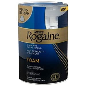Rogaine for Men Hair Regrowth Treatment, Easy-to-Use Foam