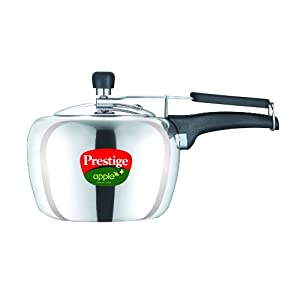 Prestige Apple Pressure Cooker - 3 litres from Amazon at Rs 1183