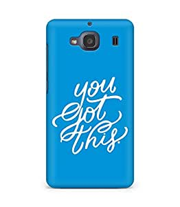 AMEZ you got this Back Cover For Xiaomi Redmi 2S