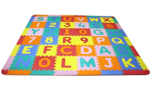 IncStores Medium Foam Alphabet Mat