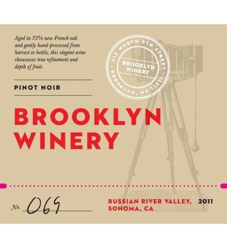 2011 Brooklyn Winery Russian River Pinot Noir 750 Ml
