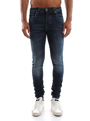 JACK&JONES 12115779 TIM L.32 DENIM JEANS Uomo DENIM 32