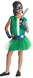 Girls Teenage Mutant Ninja Turtles Deluxe Leonardo Tutu Dress with Bracelet for Mom