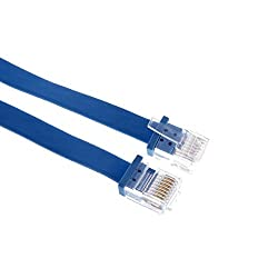 Prolink Cat 6 Plug 2 mts Flat RJ45 Ethernet Cable PMM345-0200 White