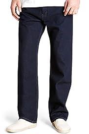 Basic Wash Jeans [T17-6524B-S]