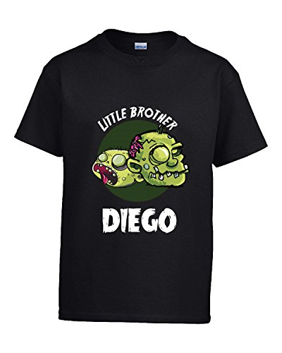Halloween Costume Diego Little Brother Funny Boys Personalized Gift - Kids T Shirt