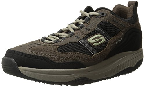 Skechers Sport Men`s Shape Ups XT Premium Comfort Oxford, Brown/Black, 10 M US