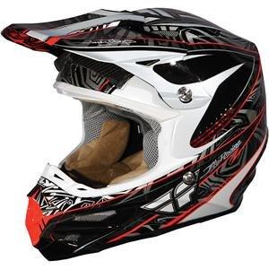 Fly Racing Formula Scramble MX Helmet - 2009 - X-Small/Black