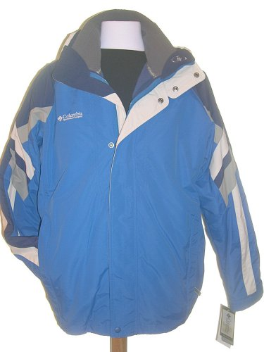 Buy Mens Columbia Sportswear 3in1 Cirrus Plus Parka, Bright Blue