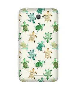 Cute Turtles Sony Xperia E4 Case