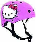 Hello Kitty - Casco tamano XS (51-53 cm), color rosa