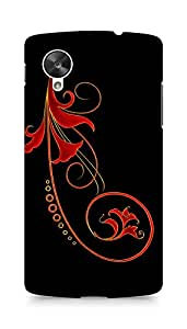 Amez designer printed 3d premium high quality back case cover for LG Nexus 5 (Abstract Dark 26)