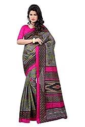 Glory sarees Women's designer Bhagalpuri Art Silk Saree kalapi31