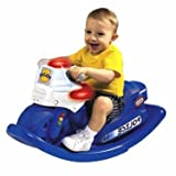 Geniusly Little Tikes Police Cycle Sounds Rocker - Cleva Edition ChildSAFE Door Stopz Bundle