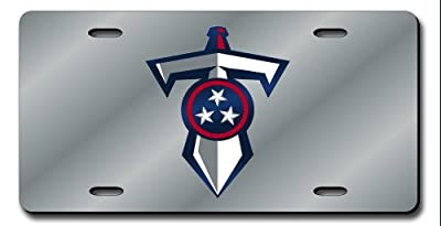 Tennessee Titans Official NFL 12 inch x 6 inch License Plate by Rico Industries