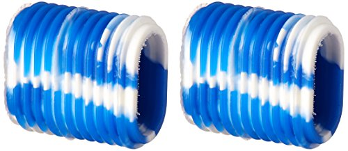 Reel Grip 1149 Reel Handle Cover, Blue and White Tie Dye Finish (Fishing Reel Grips compare prices)