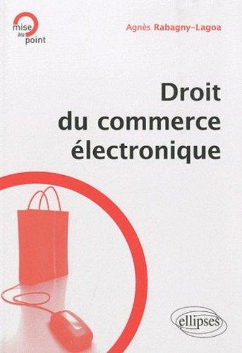 Droit du Commerce Electronique