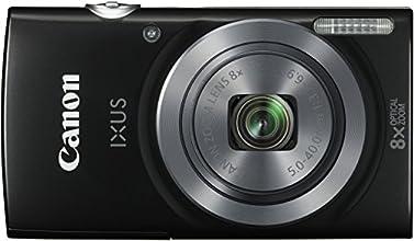 Canon IXUS 160 Fotocamera Compatta Digitale, 20 Megapixel, Nero/Antracite