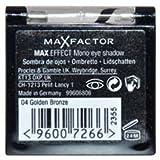 Women Max Factor Max Colour Effect Mono Eye Shadow - # 04 Golden Bronze Eye Shadow 1 Pc - Max Factor Max Colour...