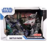 Star Wars The Clone Wars Ultimate Battle Pack AT-OT - The Battle of Christophsis